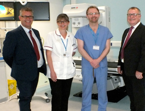 Royal United Hospitals Bath chooses Agfa's versatile DR 800 for fluoroscopy and general radiography