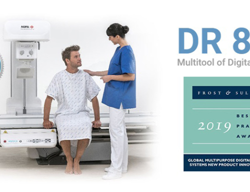Agfa receives Frost & Sullivan 2019 Global New Product Innovation Award for Multi-Purpose Digital Radiography System, DR 800.