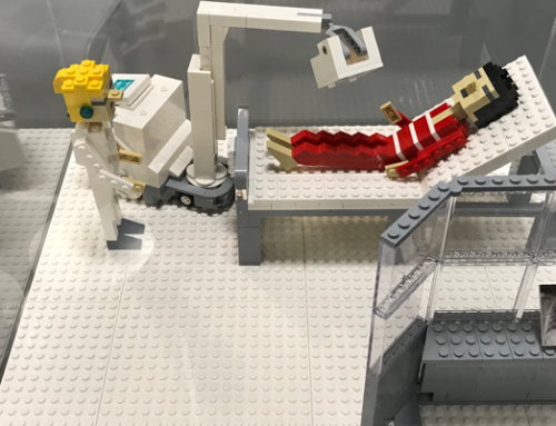 Spotted on LinkedIn: What happens when a radiologist who likes lego has a spare half an hour….