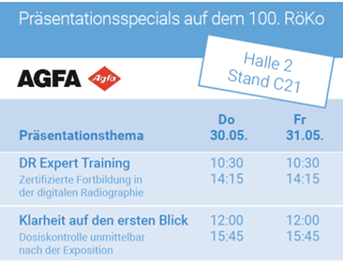 Agfa Radiology Solutions @ 100th RöKo 2019, Leipzig