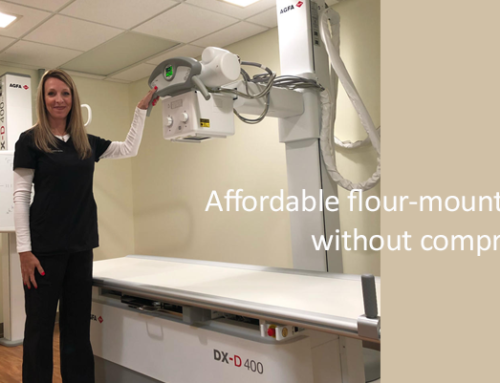 DX-D 400 installed at Brown's Medical Imaging
