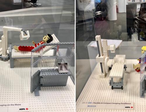 Agfa's full radiology portfolio… the LEGO version!