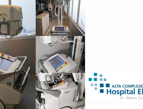 DX-D 100 installation in El Cruce Hospital, Buenos Aires