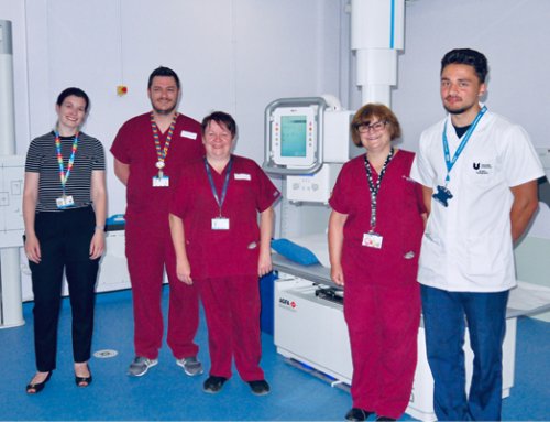 Sunderland Royal Hospital installs two Agfa ceiling suspended X-ray rooms, for high image quality and low dose