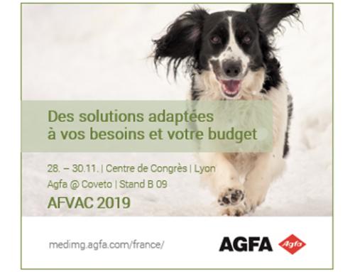 Meet us @ AFVAC 2019