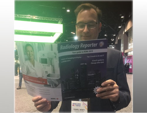 #RSNA2019: Take a look at the back cover of AuntMinnie's Radiology Reporter