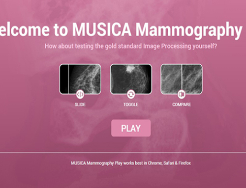 MUSICA Mammography Play : the diagnosis is in the details