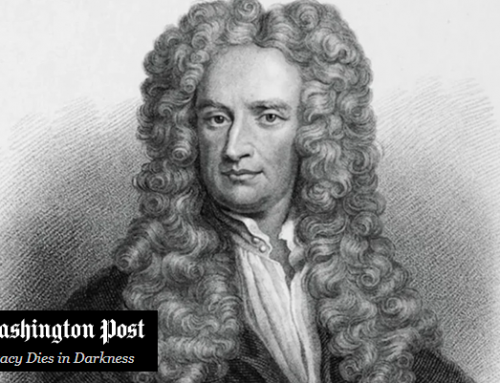 During a pandemic, Isaac Newton had to work from home, too. He used the time wisely.
