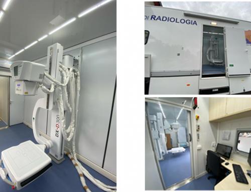 #CountOnUs: Agfa DX-D 300 on truck for COVID-19