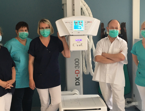 Buttstädt Surgery Practice, Germany, takes its X-ray imaging digital, with Agfa's compact U-arm DR solution