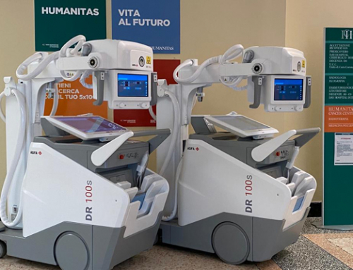 Agfa Italy installs two DR 100s mobile systems at highly specialized teaching and research hospital Humanitas.