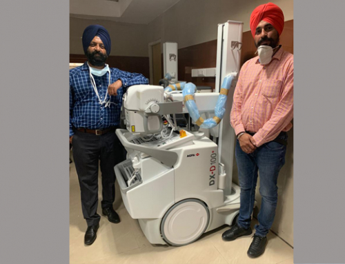 #CountOnUs : Leading tertiary care hospital in India installs 2 Agfa mobile solutions to support their fight against the Coronavirus.