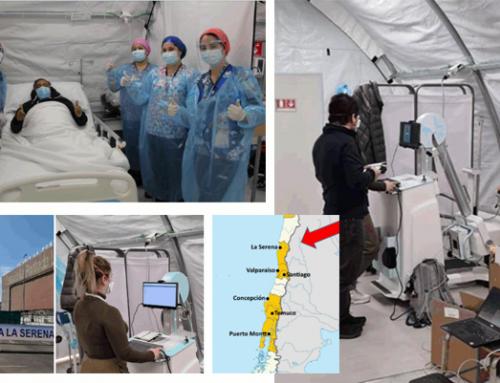 #CountOnUs: Modular Hospital La Serena received its first patients