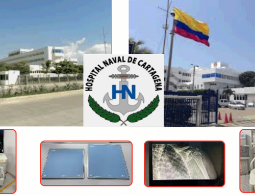 #CountOnUs: HONAC-Naval Hospital of Cartagena, Colombia acquires 5 DR Retrofits to digitalize their X-Ray Systems during Covid-19 Pandemic