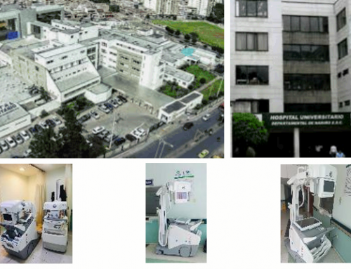 #CountOnUS: Hospital Universitario Departamental de Nariño, Colombia acquired a DR 100s