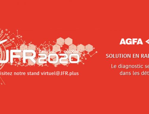 Aux JFR 2020, Agfa démontre les avantages de sa gamme de solutions DR et CR en termes de productivité accrue, de qualité d'image élevée et de réduction des doses