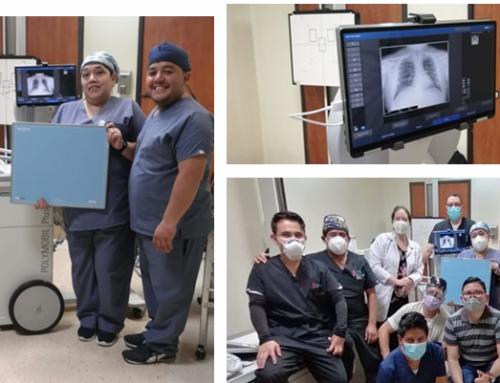 Ultramobile DR Kit in Hospital El Pilar, Guatemala