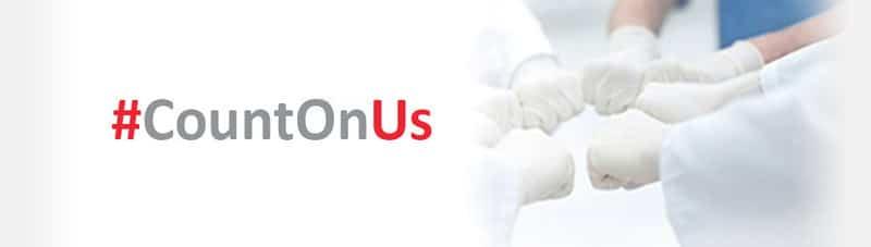 #CountOnUs