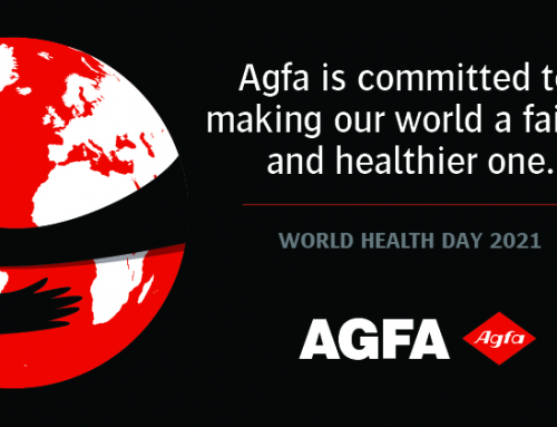 Agfa is committed to making our world a fairer and healtier place.