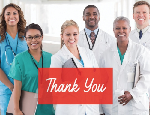 Thank you to all healthcare professionals across the globe!