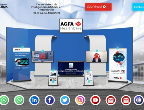 Agfa participates in online 'Artificial Intelligence in Radiology' event in Chile.