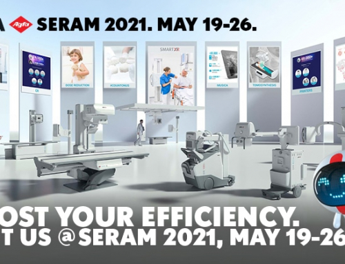 At the 35th SERAM congress, Agfa shows innovative solutions that put intelligent tools in the hands of radiographers
