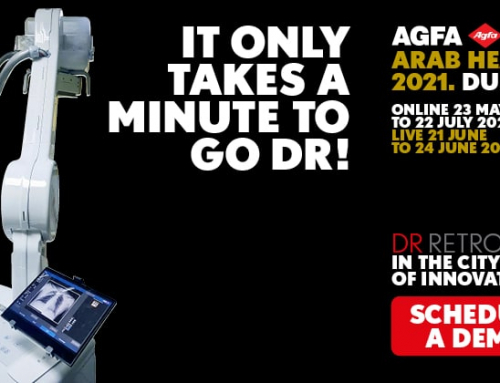 @Arab Health 2021: DR Retrofit – it only takes a minute to go DR!