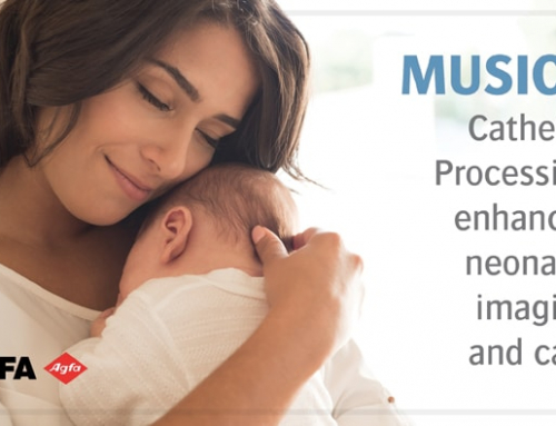 MUSICA's Fractional Multiscale Processing improves catheter visualization for newborns.