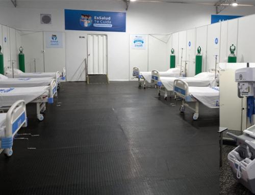 El Centro de Atención COVID-19 Villa EsSalud Nuevo Chimbote en Perú aumenta su eficiencia con la solución móvil DR 100s de Agfa.