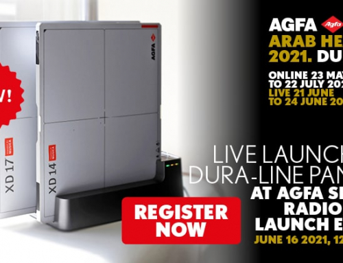 @Arab Health2021- Register for the Agfa Smart Radiology Launch Event