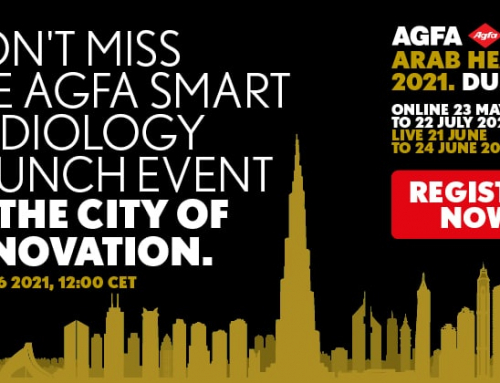 @Arab Health2021 – Register for the Agfa Smart Radiology Launch event