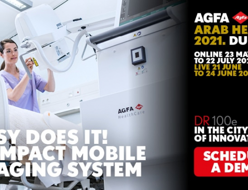 @Arab Health2021 – Boost your efficiency with a compact and affordable mobile imaging system