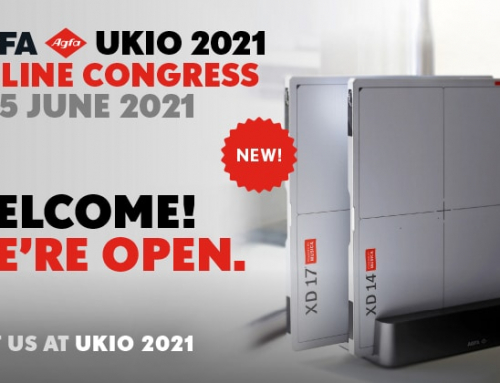 @UKIO 2021, Agfa highlights its promise and vision to transform digital radiography, with intelligent, meaningful answers to healthcare imaging needs