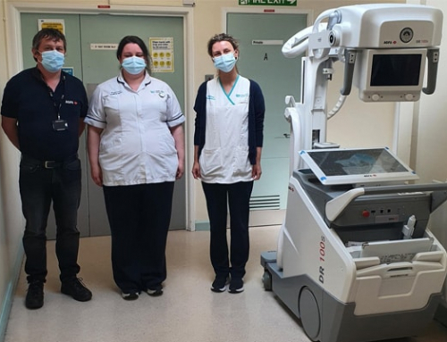 Agfa Journey in Northern Ireland continues with the installation of another DR mobile solution.