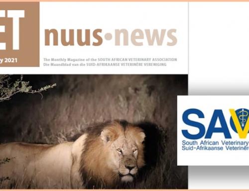 Agfa's advert in Vet News