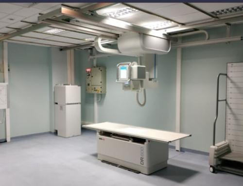 University hospital of Ioannina, Greece, installs DR 600 ceiling suspended DR system.