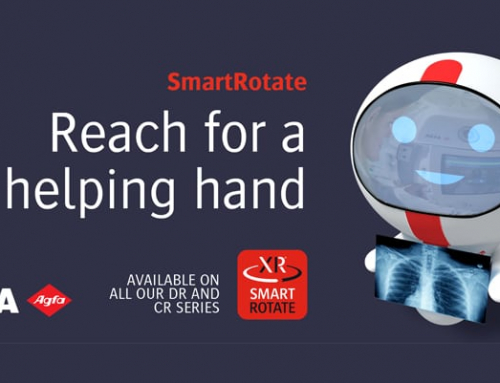 Extending SmartRotate to all its DR and CR solutions, Agfa gives radiography an intelligent productivity boost